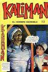 Cover for Kaliman (Editora Cinco, 1976 series) #113