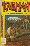 Cover for Kaliman (Editora Cinco, 1976 series) #126