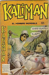 Cover for Kaliman (Editora Cinco, 1976 series) #125