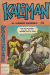 Cover for Kaliman (Editora Cinco, 1976 series) #135