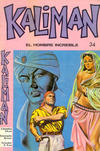 Cover for Kaliman (Editora Cinco, 1976 series) #34