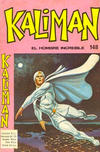 Cover for Kaliman (Editora Cinco, 1976 series) #148