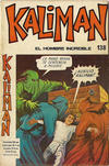 Cover for Kaliman (Editora Cinco, 1976 series) #138