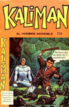 Cover for Kaliman (Editora Cinco, 1976 series) #114