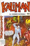 Cover for Kaliman (Editora Cinco, 1976 series) #156