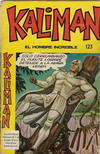 Cover for Kaliman (Editora Cinco, 1976 series) #123