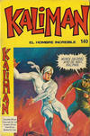 Cover for Kaliman (Editora Cinco, 1976 series) #140