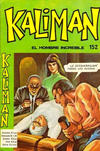 Cover for Kaliman (Editora Cinco, 1976 series) #152