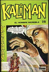 Cover for Kaliman (Editora Cinco, 1976 series) #219