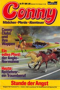 Cover Thumbnail for Conny (Bastei Verlag, 1980 series) #84