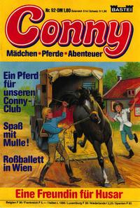Cover Thumbnail for Conny (Bastei Verlag, 1980 series) #92
