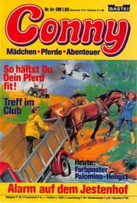 Cover Thumbnail for Conny (Bastei Verlag, 1980 series) #94