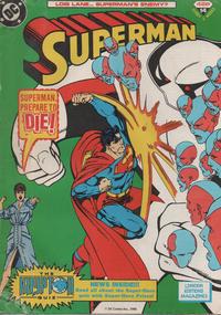 Cover Thumbnail for Superman (Egmont UK, 1988 series) #14