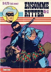 Cover Thumbnail for Ensomme Rytter (Hjemmet / Egmont, 1977 series) #11
