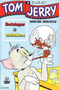 Cover Thumbnail for Tom & Jerry (Semic, 1979 series) #8/1986