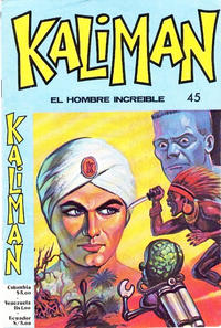 Cover Thumbnail for Kaliman (Editora Cinco, 1976 series) #45