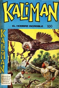 Cover Thumbnail for Kaliman (Editora Cinco, 1976 series) #100