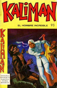 Cover Thumbnail for Kaliman (Editora Cinco, 1976 series) #93