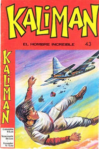 Cover Thumbnail for Kaliman (Editora Cinco, 1976 series) #43