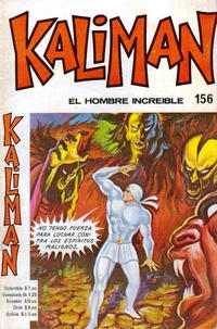 Cover Thumbnail for Kaliman (Editora Cinco, 1976 series) #156
