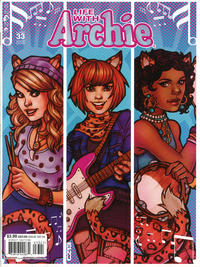 Cover Thumbnail for Life with Archie (Archie, 2010 series) #33 [Chrissie Zullo Cover]