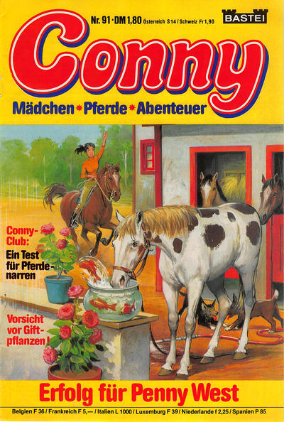 Cover for Conny (Bastei Verlag, 1980 series) #91