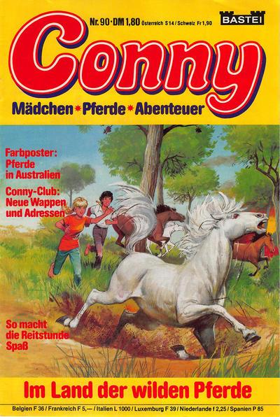 Cover for Conny (Bastei Verlag, 1980 series) #90