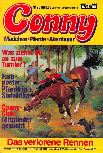 Cover for Conny (Bastei Verlag, 1980 series) #93