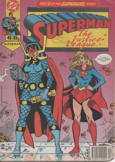 Cover for Superman (Egmont UK, 1988 series) #49