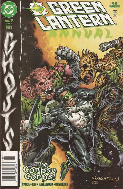 Cover for Green Lantern Annual (DC, 1992 series) #7 [Direct Sales]