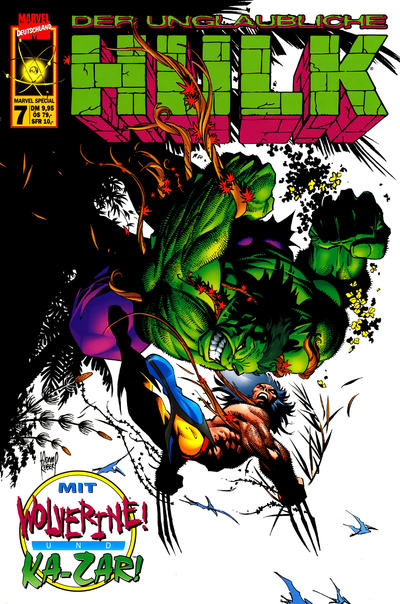 Cover for Marvel Special (Panini Deutschland, 1997 series) #7