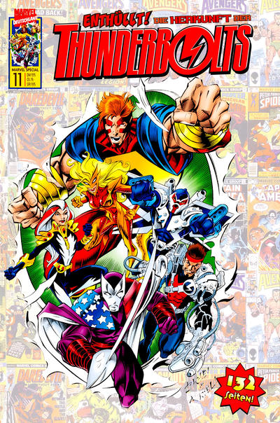 Cover for Marvel Special (Panini Deutschland, 1997 series) #11