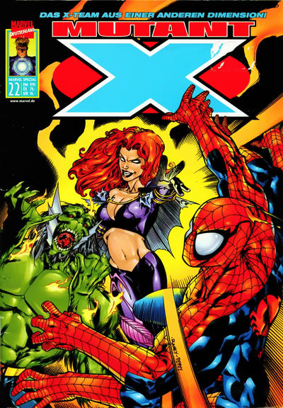Cover for Marvel Special (Panini Deutschland, 1997 series) #22