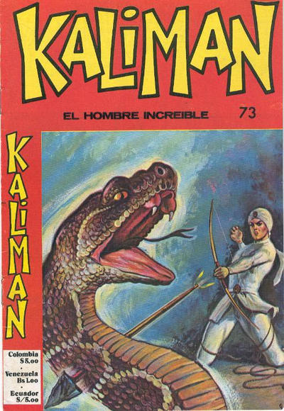 Cover for Kaliman (Editora Cinco, 1976 series) #73