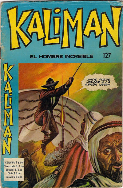 Cover for Kaliman (Editora Cinco, 1976 series) #127