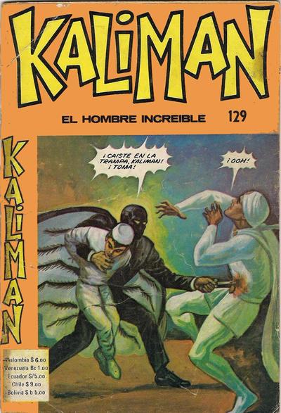 Cover for Kaliman (Editora Cinco, 1976 series) #129