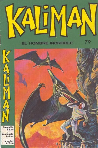 Cover for Kaliman (Editora Cinco, 1976 series) #79