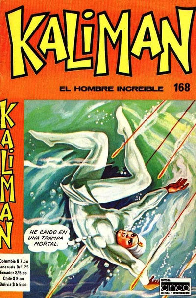 Cover for Kaliman (Editora Cinco, 1976 series) #168