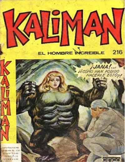 Cover for Kaliman (Editora Cinco, 1976 series) #216