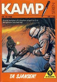 Cover Thumbnail for Kamp-serien (Serieforlaget / Se-Bladene / Stabenfeldt, 1964 series) #50/1988