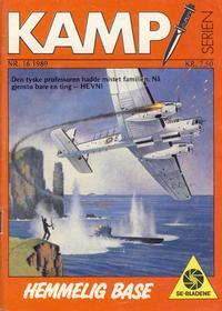 Cover Thumbnail for Kamp-serien (Serieforlaget / Se-Bladene / Stabenfeldt, 1964 series) #16/1989