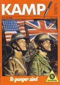 Cover Thumbnail for Kamp-serien (Serieforlaget / Se-Bladene / Stabenfeldt, 1964 series) #19/1989