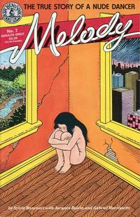 Cover Thumbnail for Melody (Kitchen Sink Press, 1988 series) #7