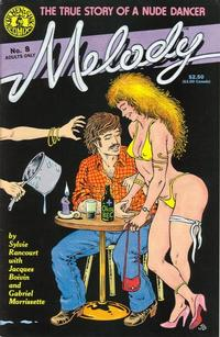 Cover Thumbnail for Melody (Kitchen Sink Press, 1988 series) #8