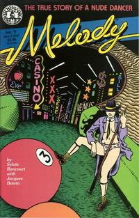 Cover Thumbnail for Melody (Kitchen Sink Press, 1988 series) #9