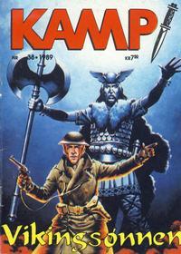 Cover Thumbnail for Kamp-serien (Serieforlaget / Se-Bladene / Stabenfeldt, 1964 series) #38/1989