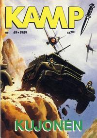 Cover Thumbnail for Kamp-serien (Serieforlaget / Se-Bladene / Stabenfeldt, 1964 series) #49/1989