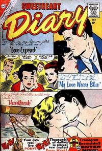 Cover Thumbnail for Sweetheart Diary (Charlton, 1955 series) #53