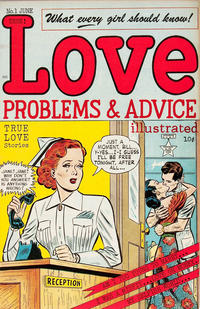 Cover Thumbnail for Love Problems and Advice, Illustrated (McCombs, 1949 series) #1