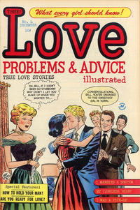 Cover Thumbnail for True Love Problems and Advice Illustrated (Harvey, 1949 series) #4